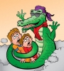 cool Crocodile for children's book