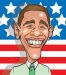 President Barack Obama Caricature by Dave McCoy Illustration