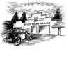 old-style garage