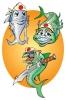 mascots for sushi restaurant